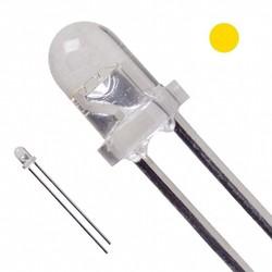 3mm Şeffaf Sarı Led - 10 Adet - Thumbnail