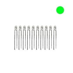 3mm Şeffaf Yeşil Led - 10 Adet - Thumbnail