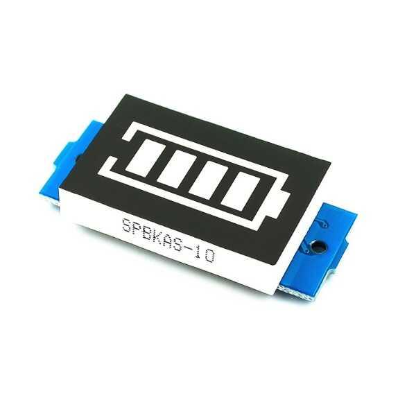 Pil Seviye Ölçer - 3S Lityum Batarya Kapasite Göstergesi Modülü