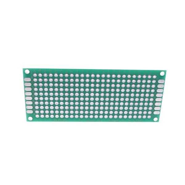 Delikli Pertinaks - 3x7 Çift Yüzlü Delikli Pertinaks