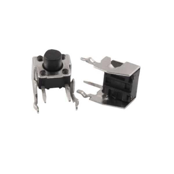 4 Pin 90 Derece Tact Buton-6x6x6mm