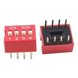 4 Pin Dip Switch - Thumbnail