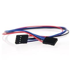 4 Pin Dişi-Dişi Jumper Kablo-300mm - Thumbnail