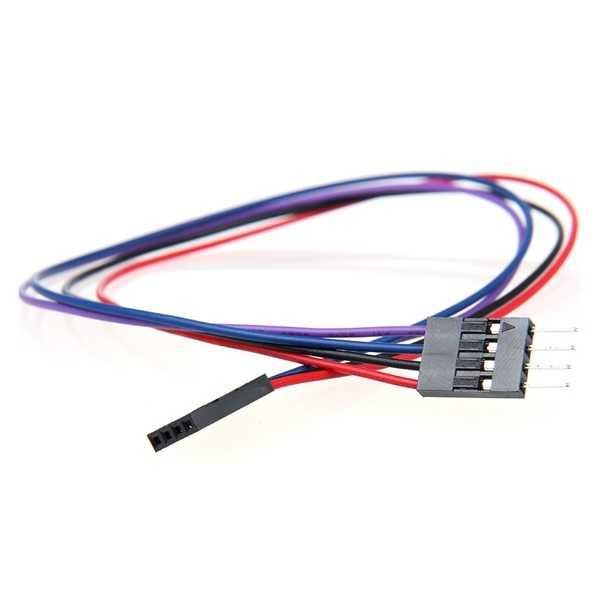 4 Pin Dişi-Erkek Jumper Kablo-300mm