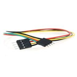 4 Pin Erkek-Erkek Jumper Kablo-300mm - Thumbnail