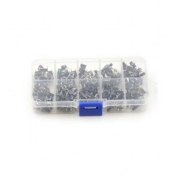 Buton - 4 Pinli Tact Buton Seti-100 Adet