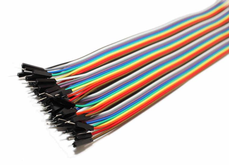 40 Pin Ayrılabilen Erkek-Erkek Jumper Kablo-100mm