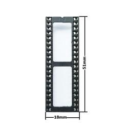 40 Pin Dip Soket - Thumbnail