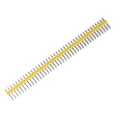 40 Pin Erkek Header - Sarı - Thumbnail