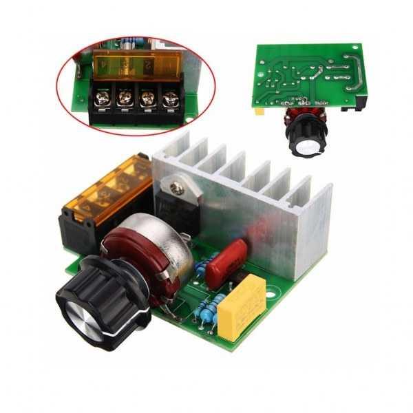 4000 Watt SCR Dimmer-220 VAC