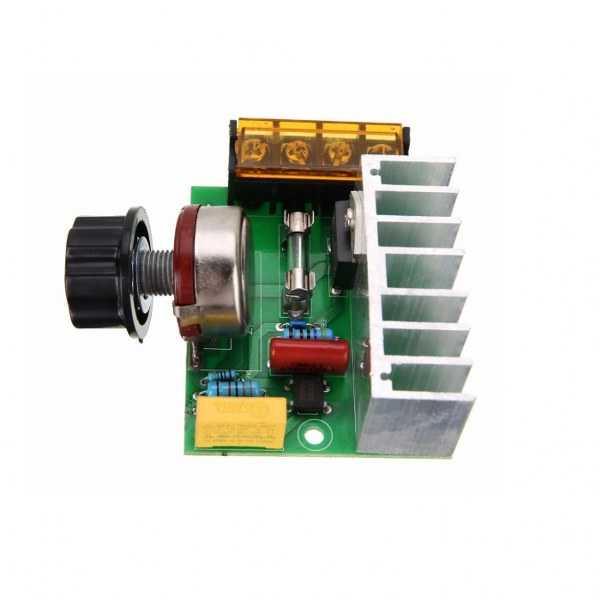Voltaj Regüle Kartları - 4000 Watt SCR Dimmer-220 VAC