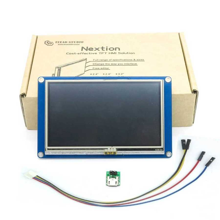 4.3 inch Nextion HMI LCD Touch Display
