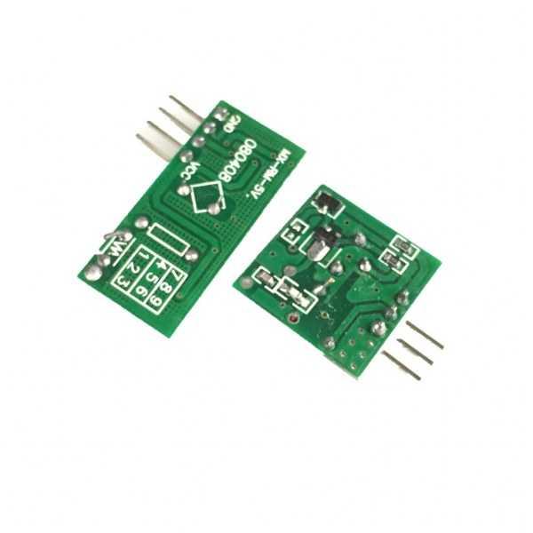 RF Modüller - 433 Mhz RF Kablosuz Alıcı Ve Verici Kiti