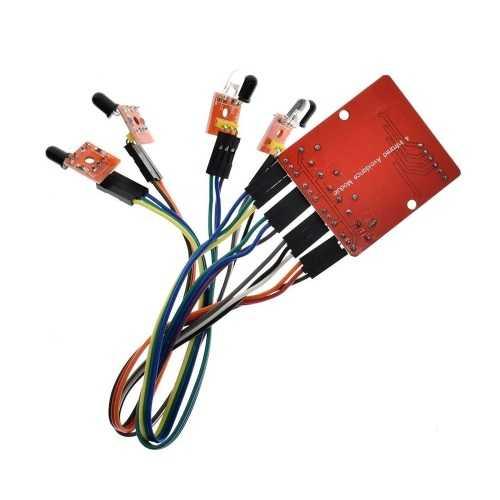 4′lü Çizgi İzleyen Sensör