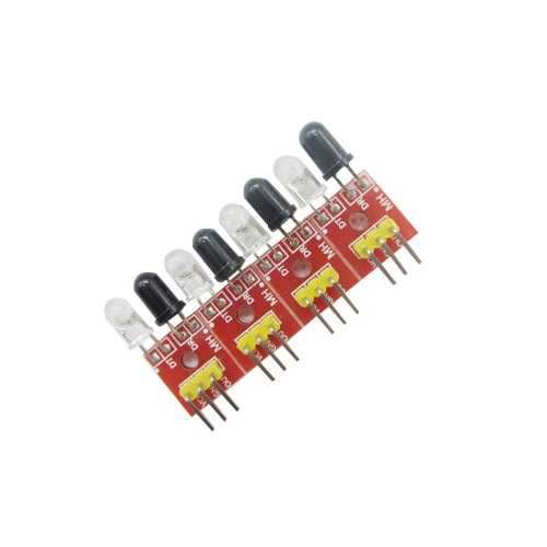 Mesafe - Çizgi - Cisim - 4′lü Çizgi İzleyen Sensör