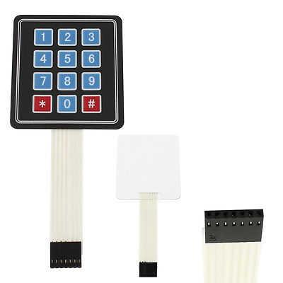 Arduino Uyumlu Sensör - Modül - 4X3 Membran Tuş Takımı