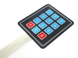 Keypad - Tuş Takımı - 4X3 Membran Tuş Takımı