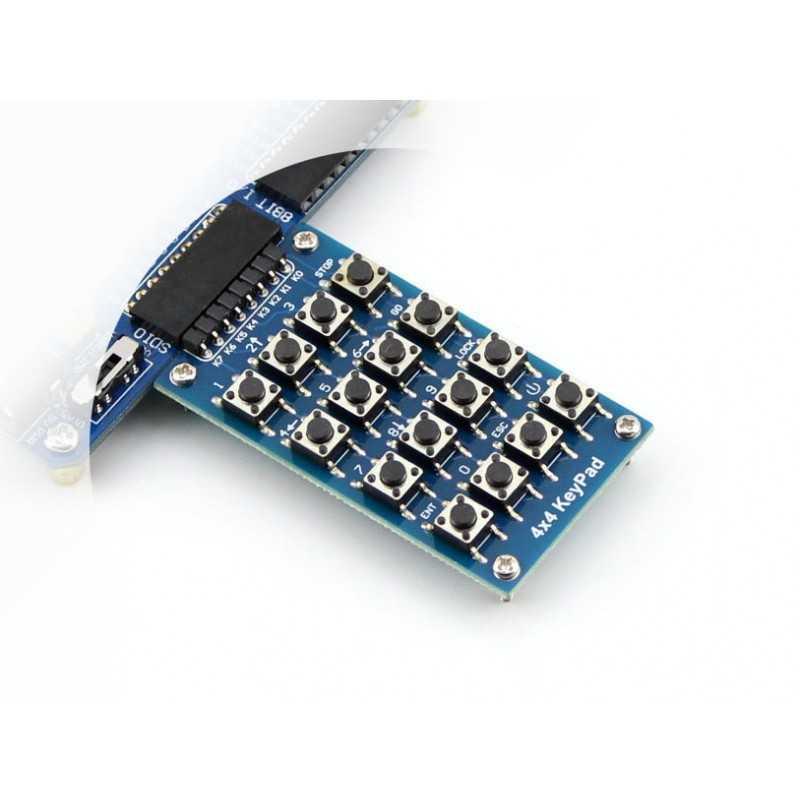 Arduino Uyumlu Sensör - Modül - 4x4 Keypad
