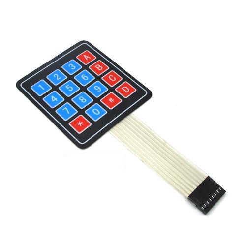 Arduino Uyumlu Sensör - Modül - 4X4 Membran Tuş Takımı