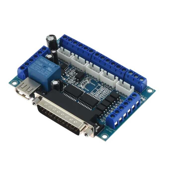 5 Eksen CNC Kontrol Kartı (MACH3 Uyumlu)