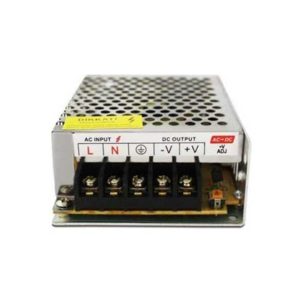 Güç Kaynağı - 5V 20A Metal Kasa Adaptör