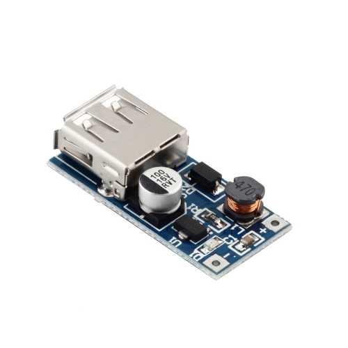 5V 600mA USB Çıkışı Voltaj Yükseltici Regülatör