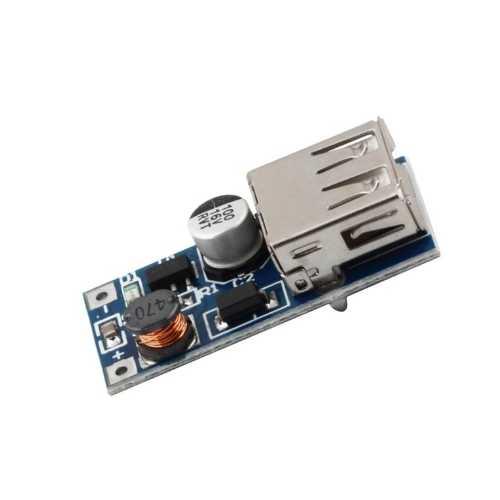 Voltaj Regüle Kartları - 5V 600mA USB Çıkışı Voltaj Yükseltici Regülatör