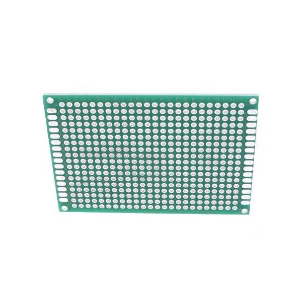 Delikli Pertinaks - 5x7 Çift Yüzlü Delikli Pertinaks