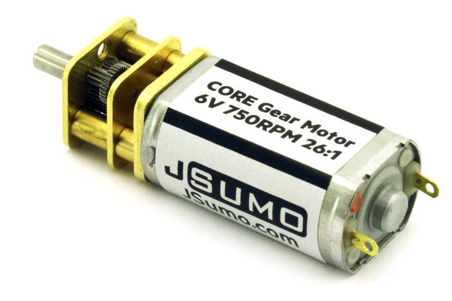 6V 750 Rpm Dc Motor