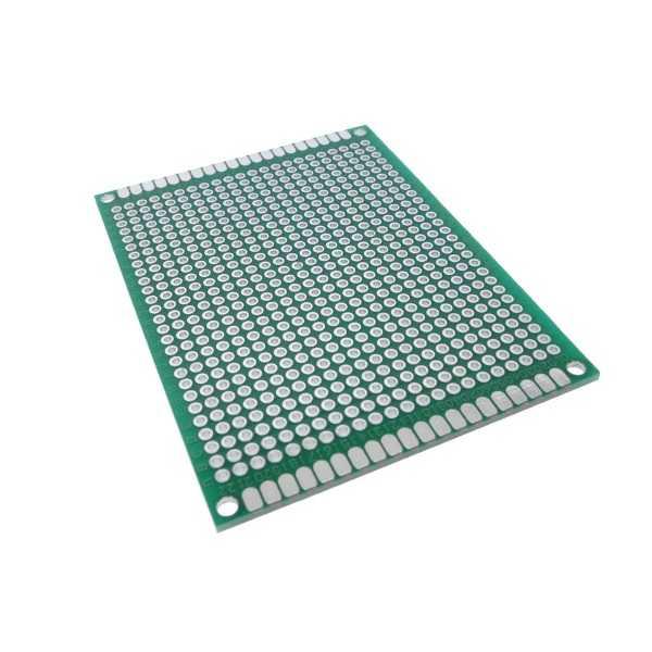 Delikli Pertinaks - 6x8 Çift Yüzlü Delikli Pertinaks