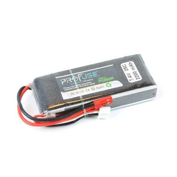 7.4V 2S Lipo Batarya 2200mAh 35C