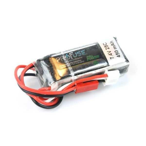 7.4V 2S Lipo Batarya 450mAh 25C