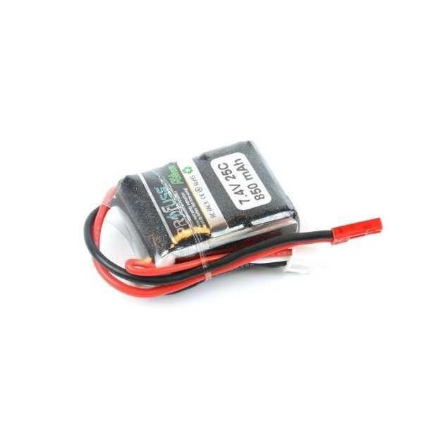 7.4V 2S Lipo Batarya 850mAh 30C