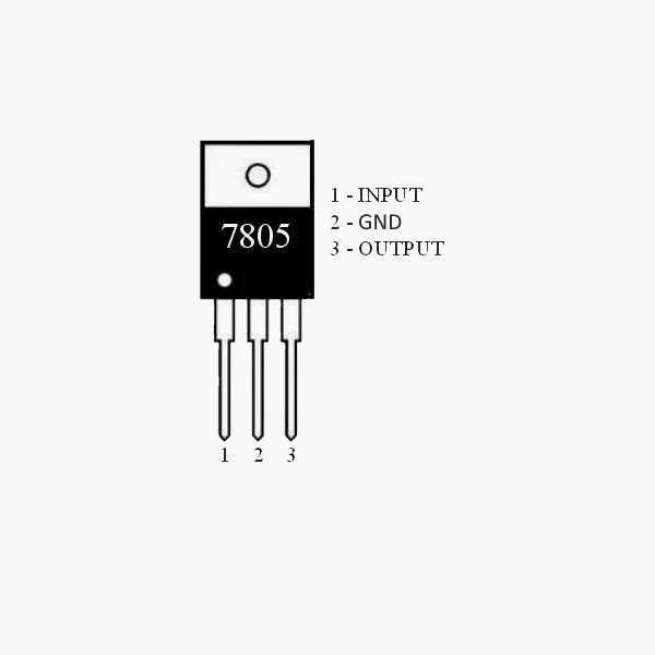 7805 Voltaj Regülatörü