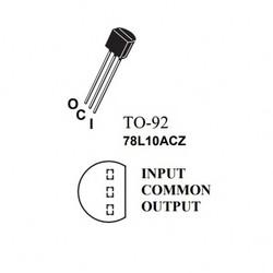 78L10ACZ Regülatör - Thumbnail