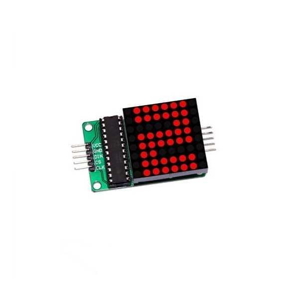 8x8 Kırmızı Dot Matrix Board