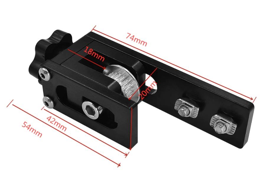 3D Yazıcı X Ekseni GT2 Kayış Gergisi-20x20 Sigma Profil_00.jpg (82 KB)