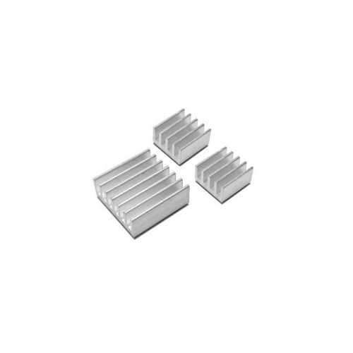 Aluminyum Mini Soğutucu Seti (Heat Sink)