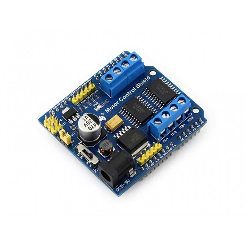 Arduino DC/Step Motor Sürücü Shield