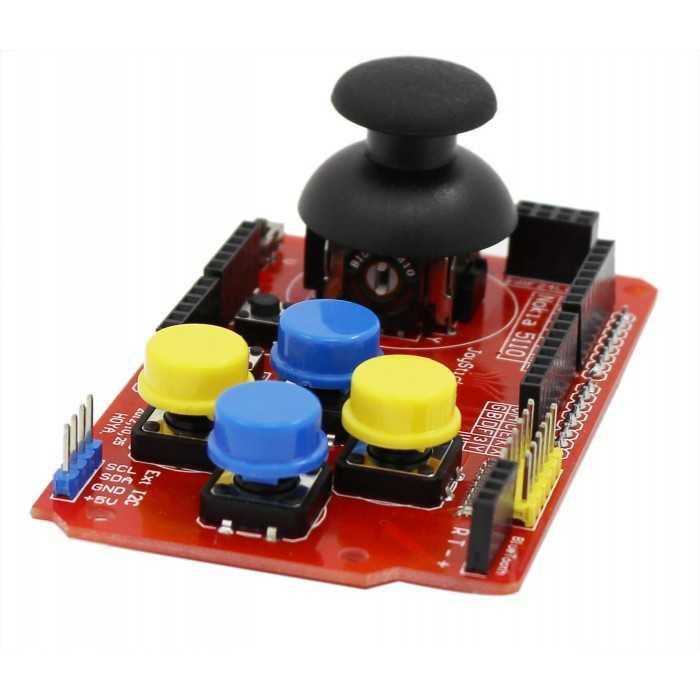 Arduino Uyumlu Sensör - Modül - Arduino Joystick Shield