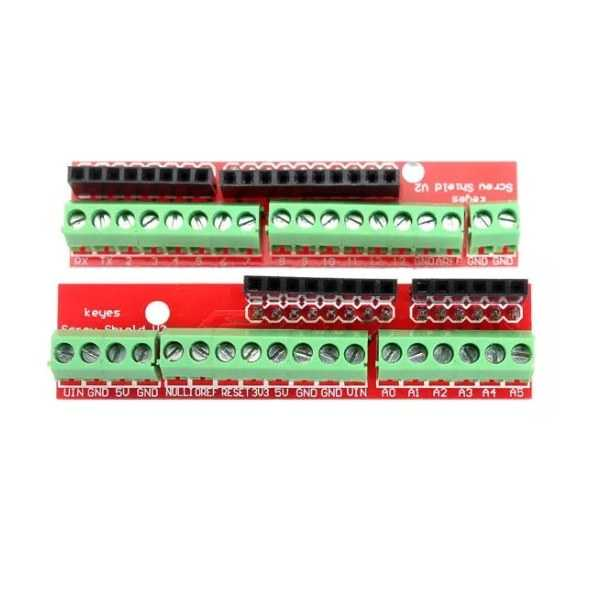 Arduino Uyumlu Sensör - Modül - Arduino Uno Klemens Shield