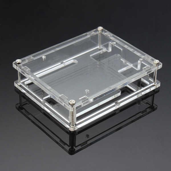 Arduino Uyumlu Sensör - Modül - Arduino Uno R3 Case - Şeffaf