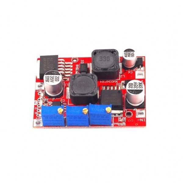 Voltaj Regüle Kartları - Ayarlanabilir DC-DC Alçaltıcı/Yükseltici Regülatör-LM2596/LM2577