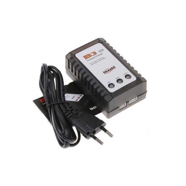 Li-Po Şarj Cihazları - B3 Kompakt Lipo (2S - 3S) Şarj Aleti