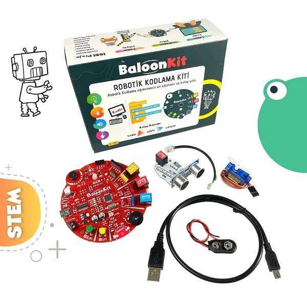 BaloonKit- Robotik Kodlama Seti - Kırmızı
