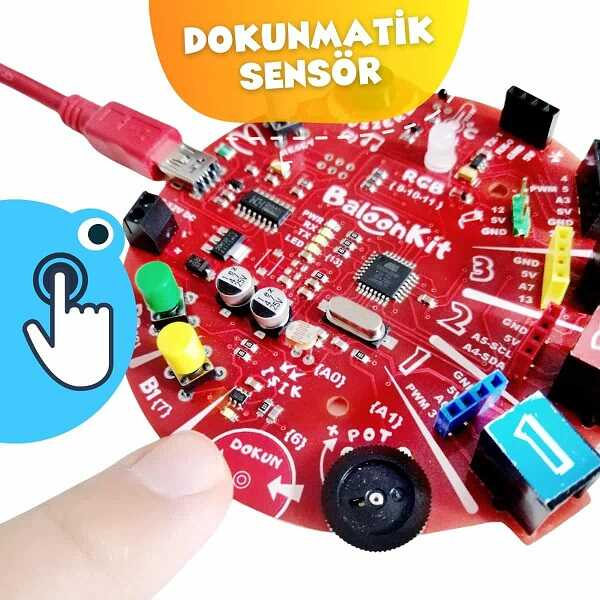 BaloonKit- Robotik Kodlama Seti - Mavi