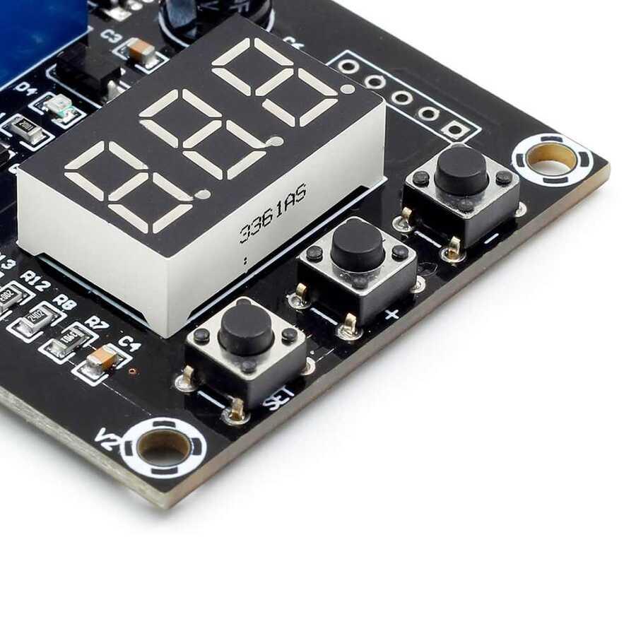 VHM-008 Batarya Şarj ve Deşarj Devresi - Voltmetreli ve Korumalı