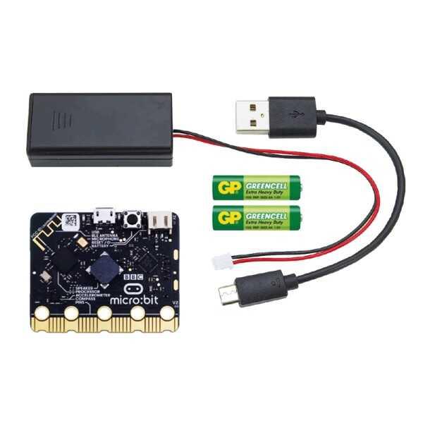 MicroBit Set ve Aksesuarları - BBC Micro: Bit GO V2