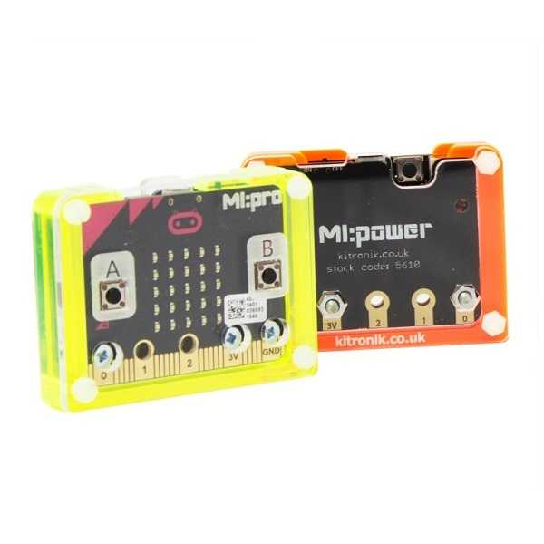 BBC micro:bit Power Case - Turuncu