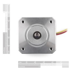 Bipolar NEMA 17 200 Adım 42x34mm 12V Step Motor - Thumbnail
